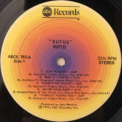 RUFUS:RUFUS(LABEL SIDE-A)