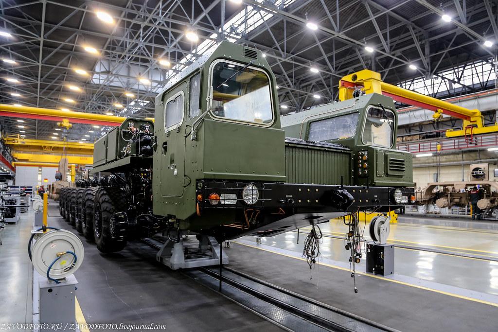 Где делают колёса для российских ракет
