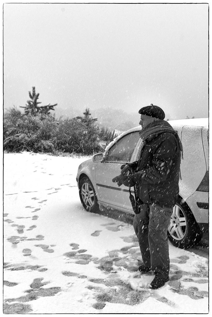 Fotógrafos em dia de nevada - Barroso (15)