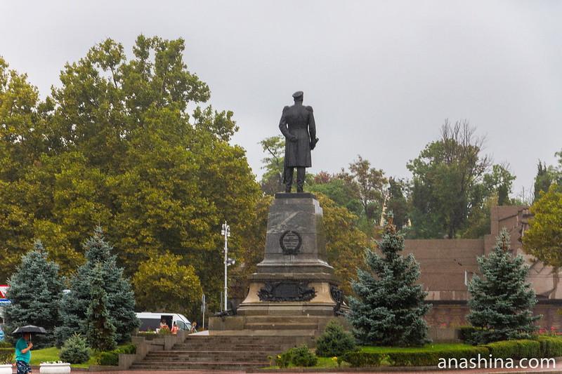Памятник Нахимову, Севастополь, Росиия, Крым
