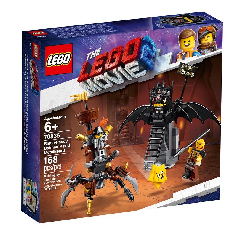 Battle-ready Batman and MetalBeard (70836)
