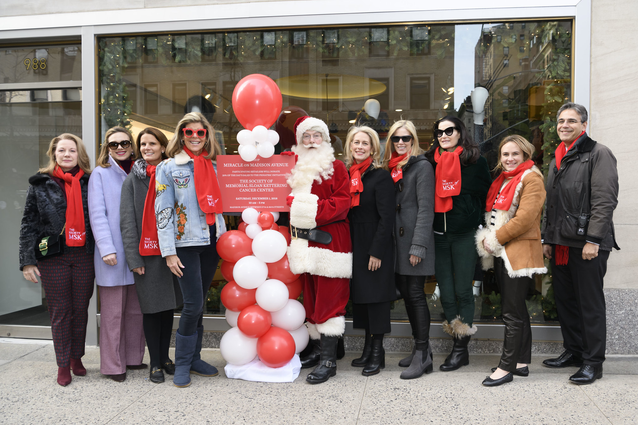 MSK Society 2018 Miracle on Madison Ave