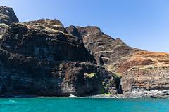 Na Pali Kalalau Trail waterfall Kauai Hawaii