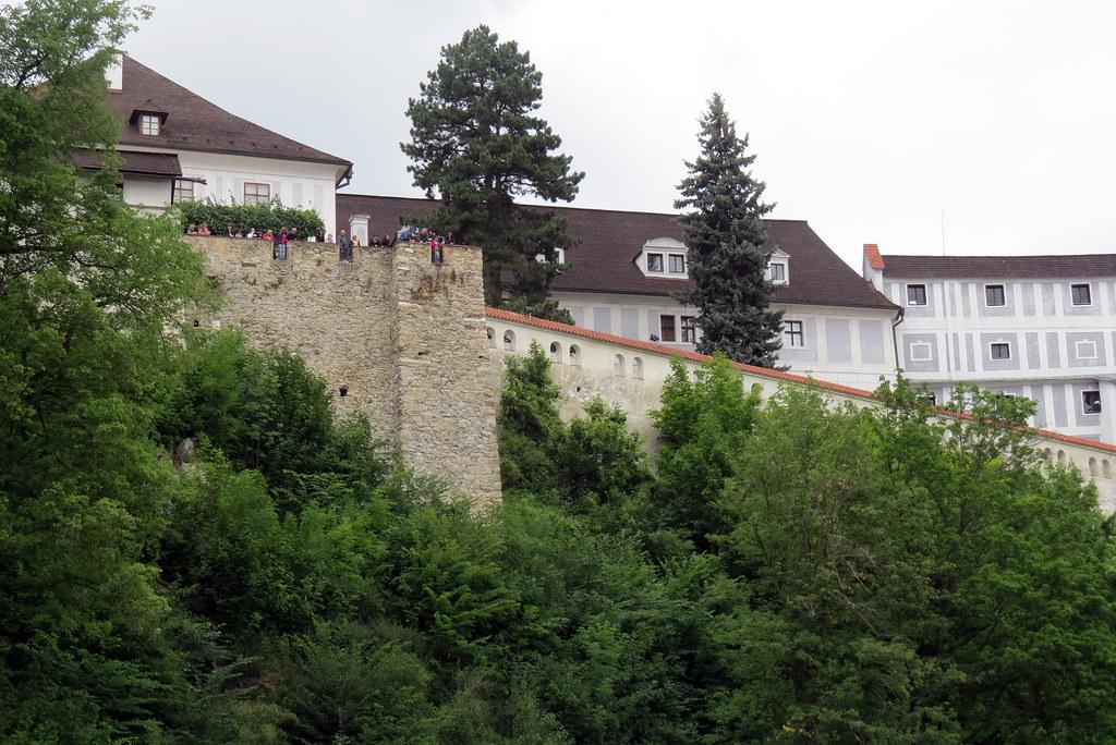 Смотровая площадка на крепостной стене