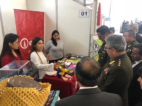 Feria de Ciencias Escuela Militar de Chorrillos 2018