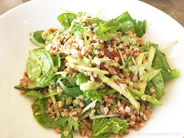 Buckwheat Grain Salad from Qwerty