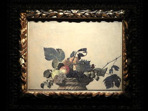 Milano - Pinacoteca Ambrosiana (La canestra di frutta)