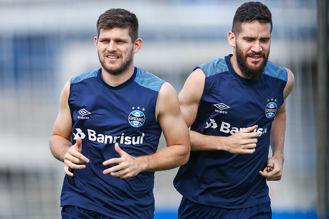 Treino Grêmio 27/11/18