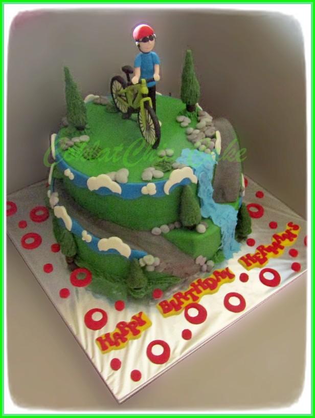 Cake Sepedadi Gunung HERMAN S 30/24