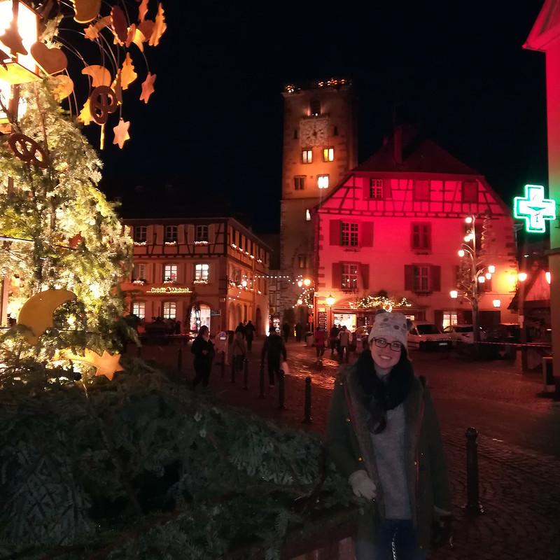 · Ribeauvillé con la Torre des Bouchers al fondo · Pueblos más bonitos de Alsacia · Alsacia en Navidad ·