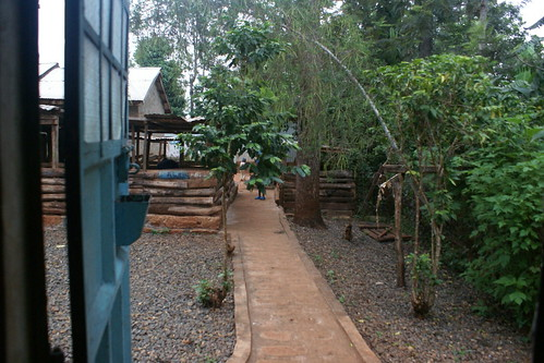 View outside of my door at the orphanage in Kenya (2012). Catherine Cottam: #VolunteerAbroadBecause It Will Shape You