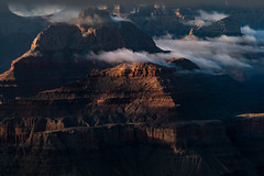 1812 Grand Canyon Storm Clouds