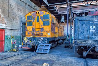 Ely Locomotive Storage