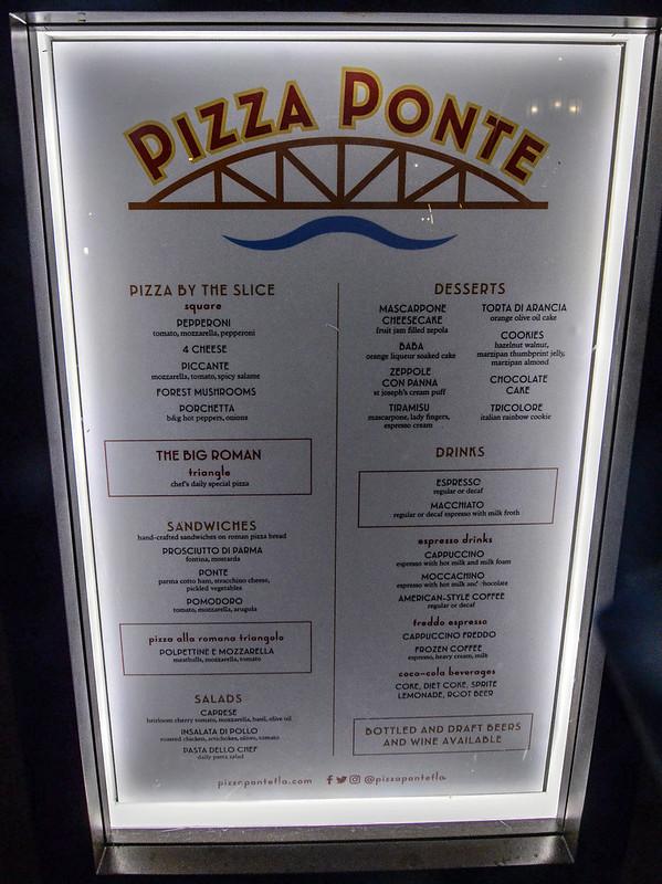 Pizza Pointe menu