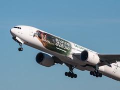 EGLL - Boeing 777 - Saudi Arabian Airlines - HZ-AK43