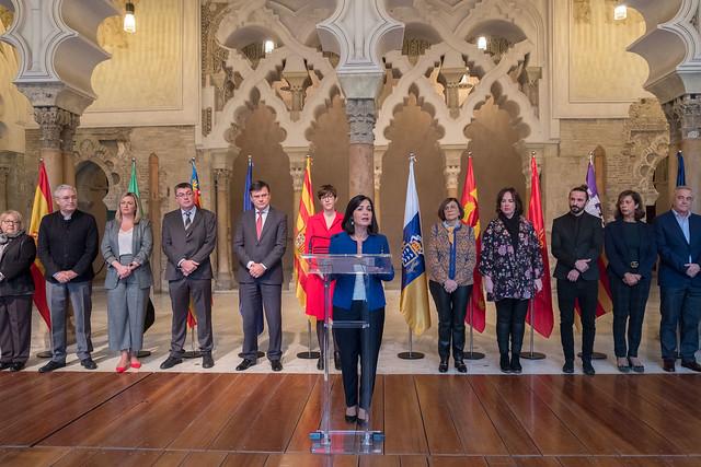 Reunión de Coprepa en las Cortes de Aragón (10/11/2018)