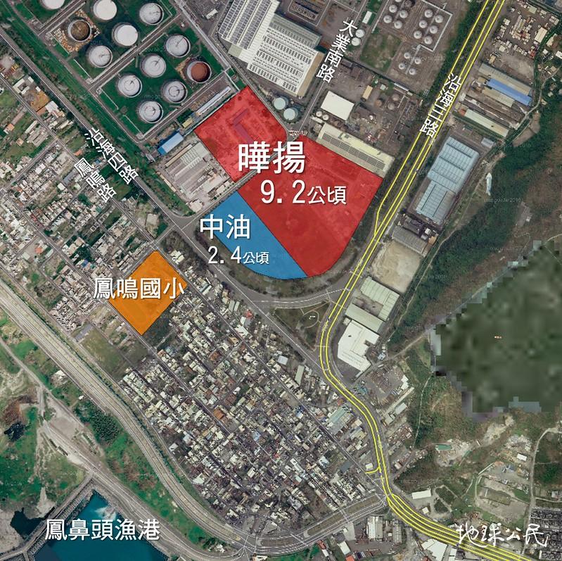 曄揚開發案面積位置圖