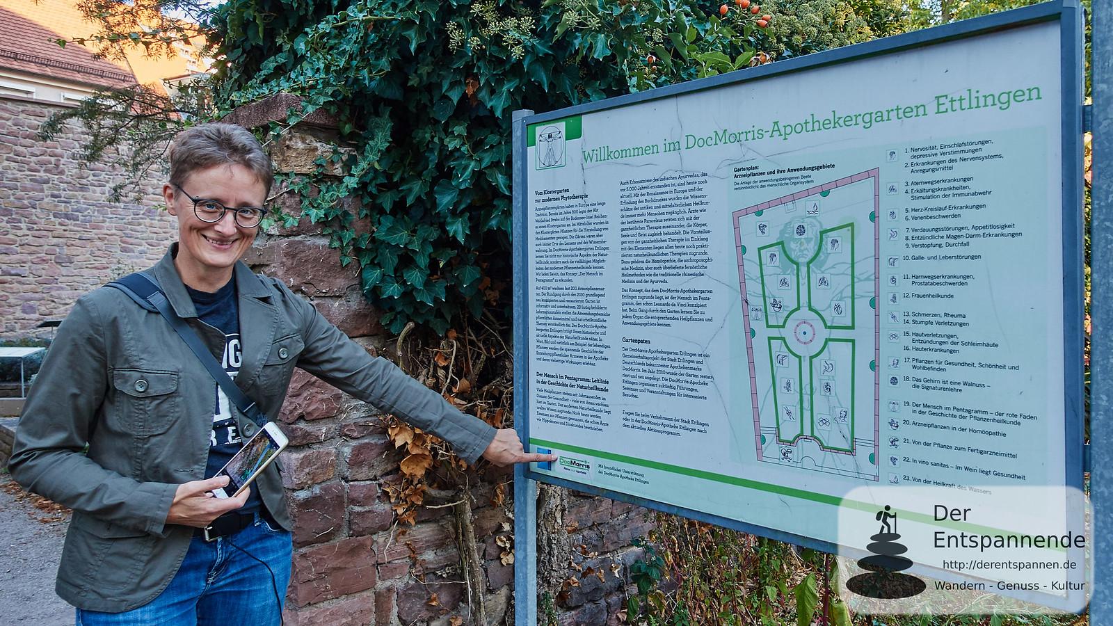 Claudia Herr: Der DocMorris-Apothekergarten in Ettlingen