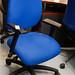 Blue swivel chair E70 reduced