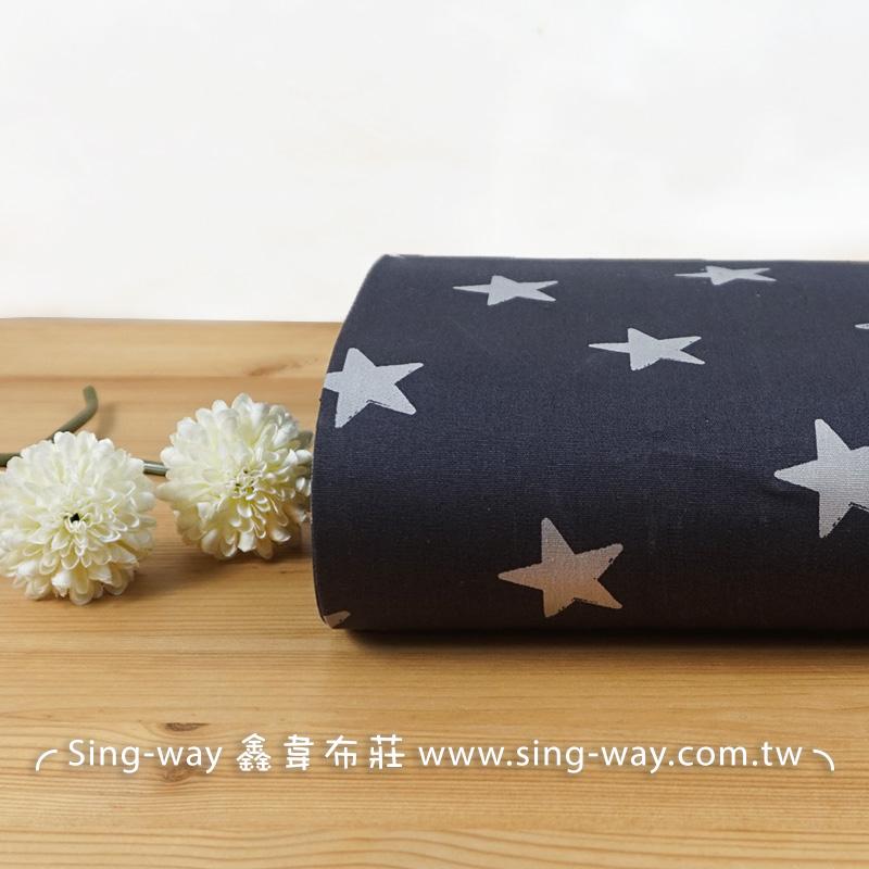 星星 Star 星星圖騰 五角星 海星 手工藝DIY布料 CA590208