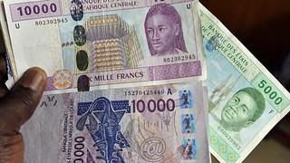 CFA Franc notes