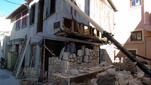 Ανακαίνιση παλιού σπιτιού στην πόλη της Λευκάδας