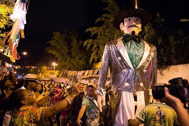 Os clarins do Homem da Meia Noite se unirão ao dendê da Charanga do Bié sob a regência de Mamão da Xambá - Créditos: Elysangela Freitas