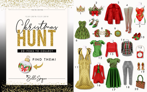 Belle Epoque CHRISTMAS HUNT