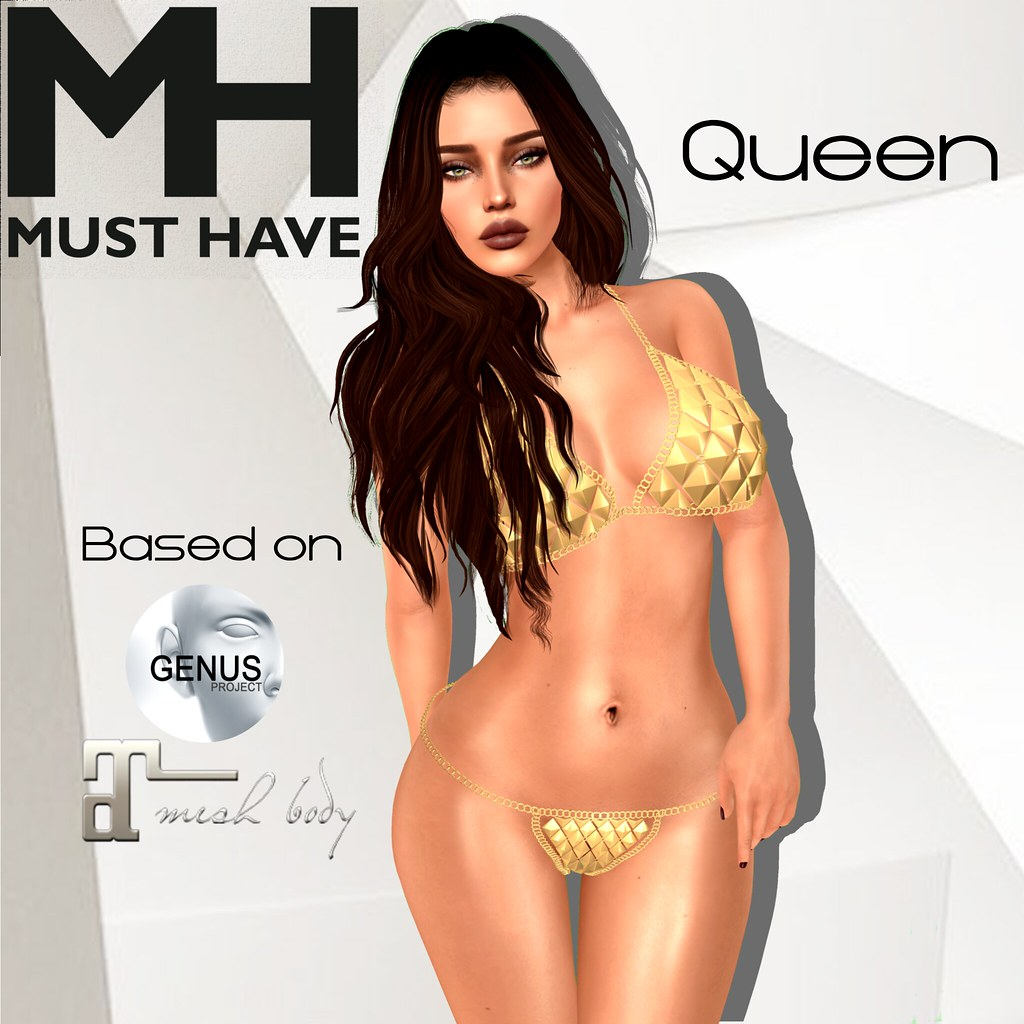 MUST HAVE - Queen Shape (Genus Bento) - TeleportHub.com Live!