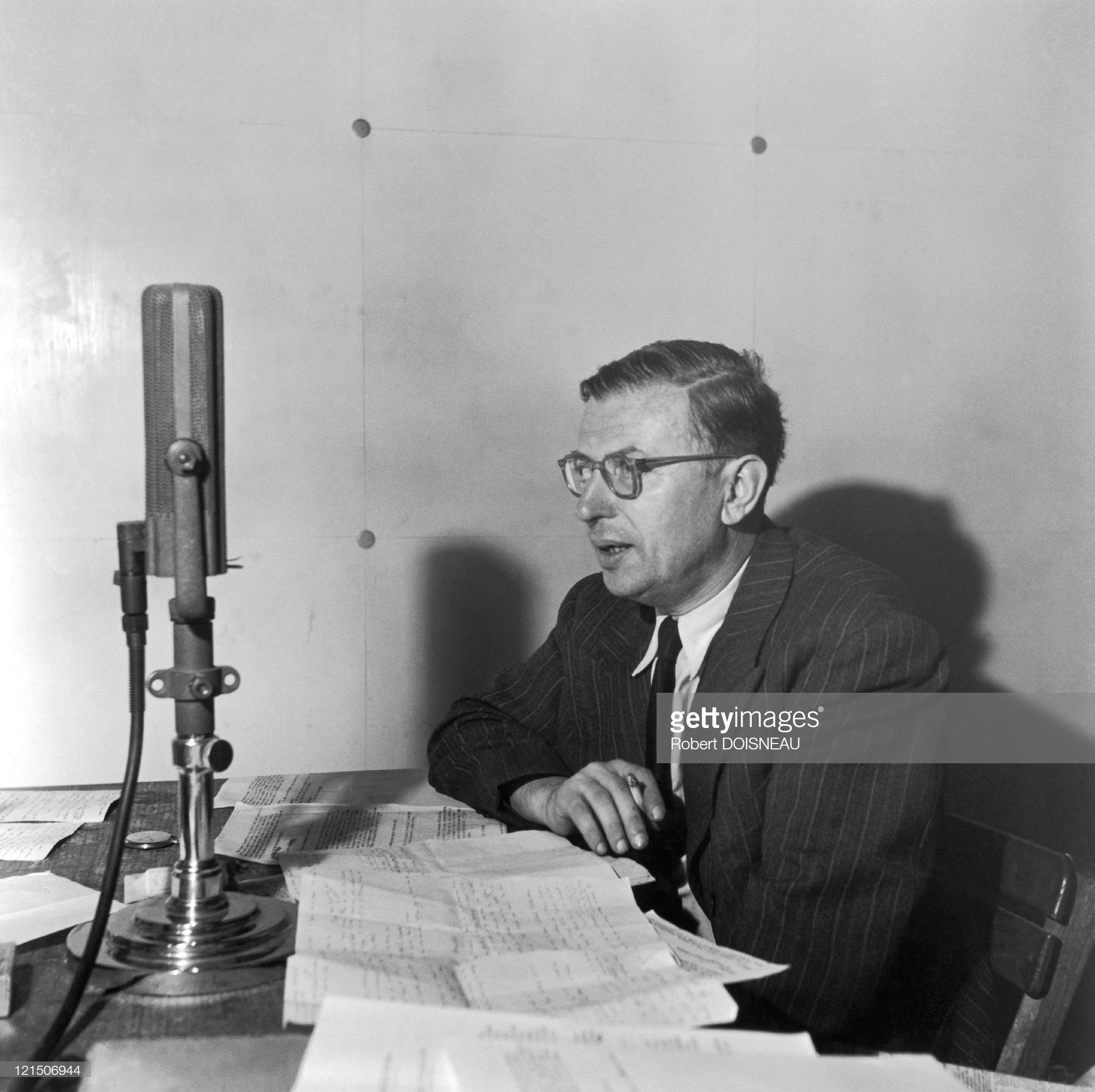 1946. Жан-Поль Сартр, писатель и философ