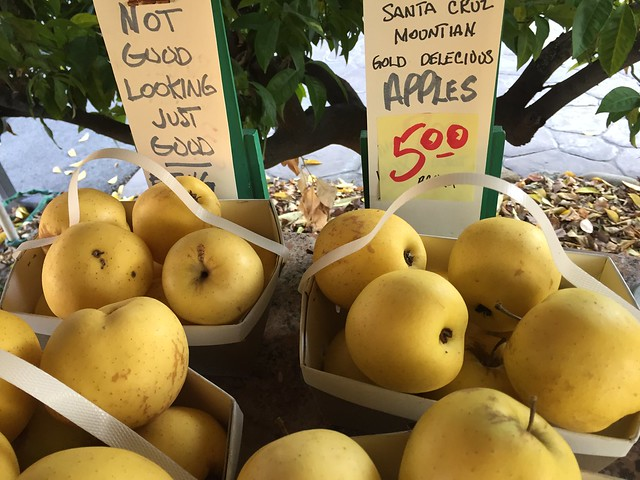Santa Cruz Mountains Gold Delicious Apples