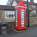 Christmas Phone box by Tom_bal