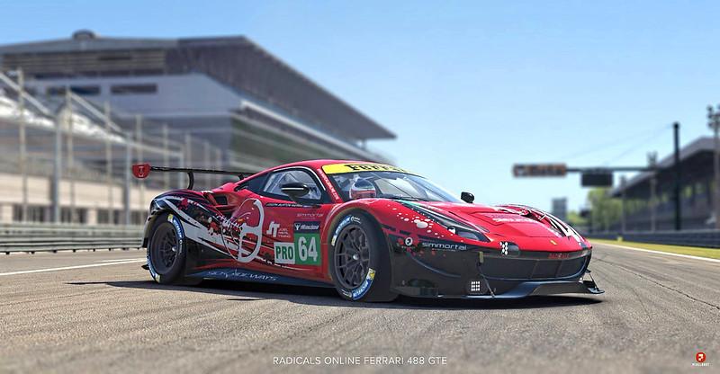 Radicals Online - iRacing Ferrari 488 GTE