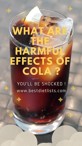WHAT ARE THE HARMFUL EFFECTS OF COLA _