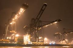 Antwerp - Harbor Deurganckdok