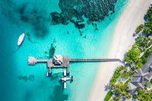 Aerial in tropics