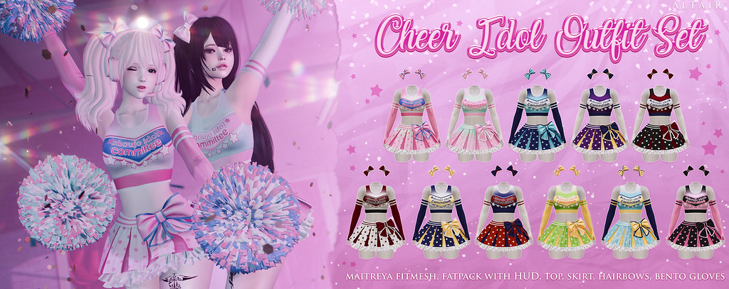 ALTAIR* - cheer idol outfit set @ equal10 - TeleportHub.com Live!