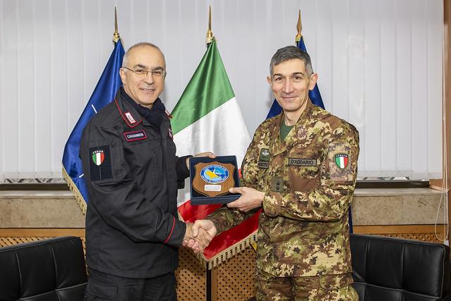 Carabinieri General Commander visited KFOR - January 2019
