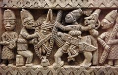 Areogun of Osi Borin, Yoruba, Door (detail)