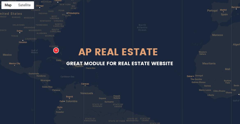 Ap Real Estate PrestaShop Module - Real Estate website