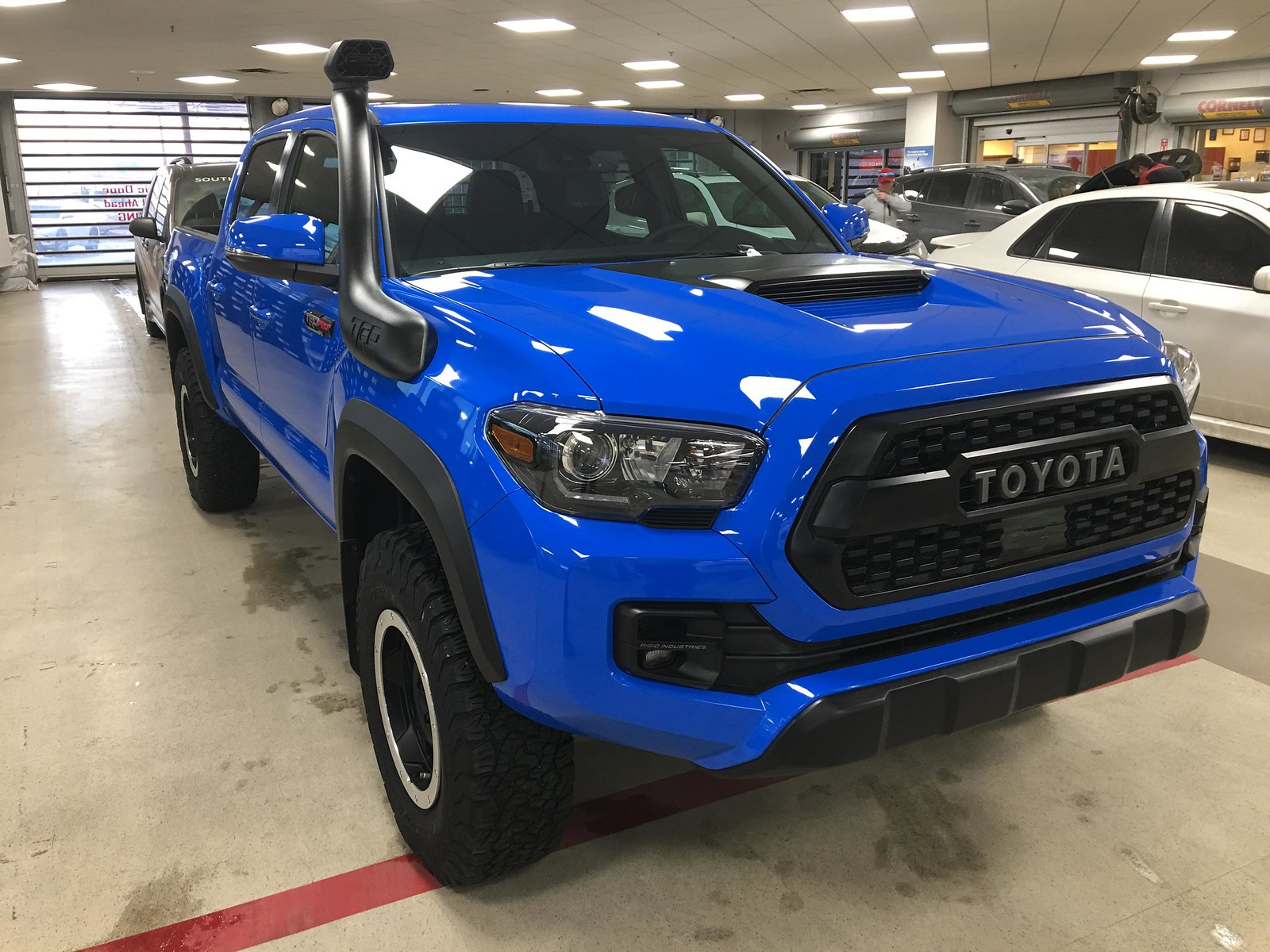 2019 Pro Build Voodoo Blue Tacoma World