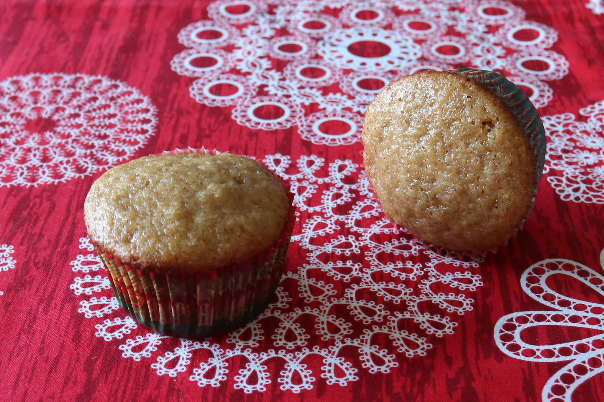 Muffins de Mel e Especiarias