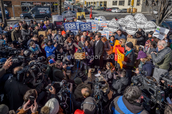 Rally Against Amazon in New York City