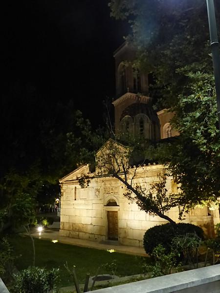 église la nuit