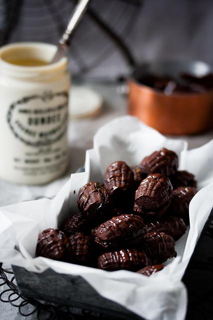 Malteser-Schokoladen Plätzchen mit Orangen Marmelade