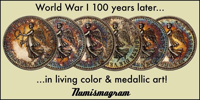 E-Sylum Numismagram ad16 WWI anniversary