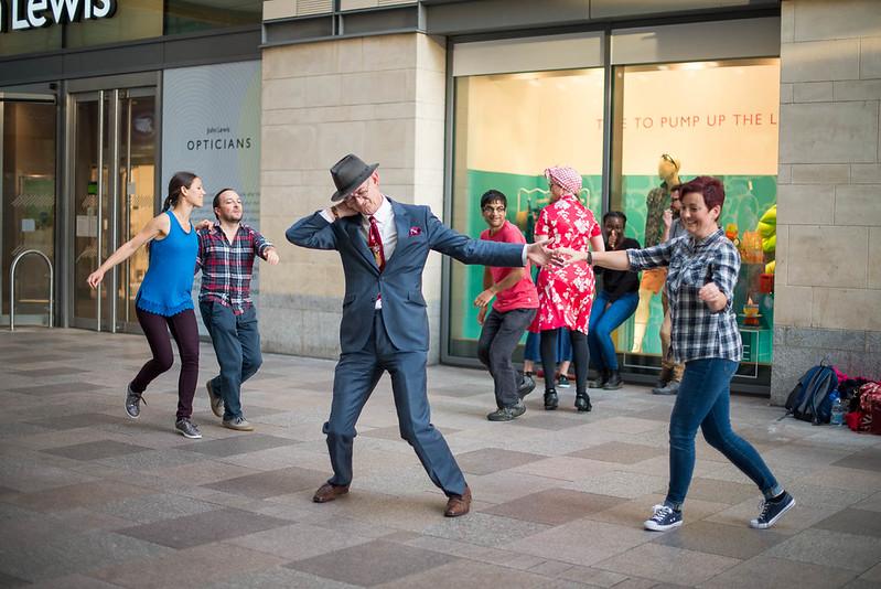 dancing in Cardiff