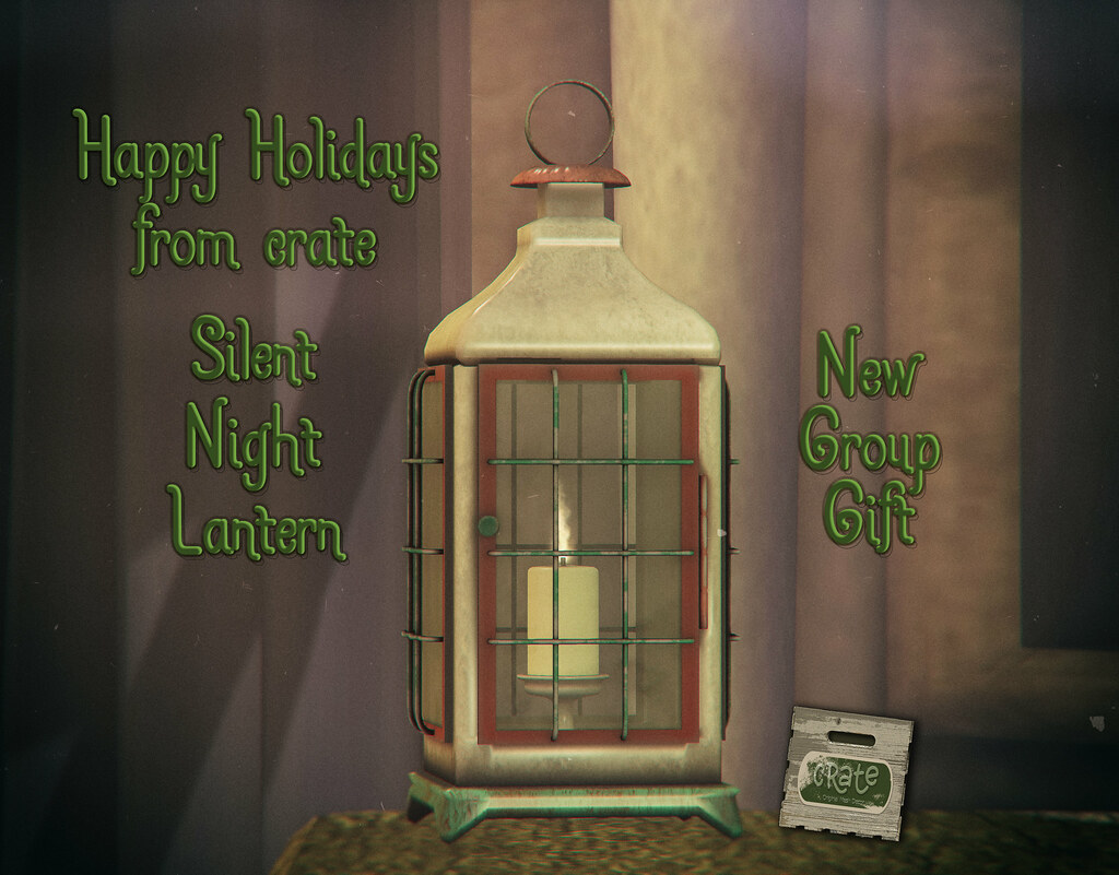crate Silent Night Lantern New Group Gift - TeleportHub.com Live!