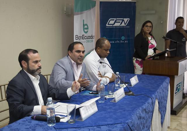Convenio entre CFN y BanEcuador a través del Fondo Nacional de Garantías