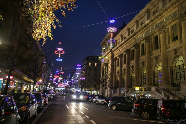 Christmas Lights in Geneva